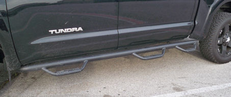 Double Cab Predator Running Boards 6 Steps
