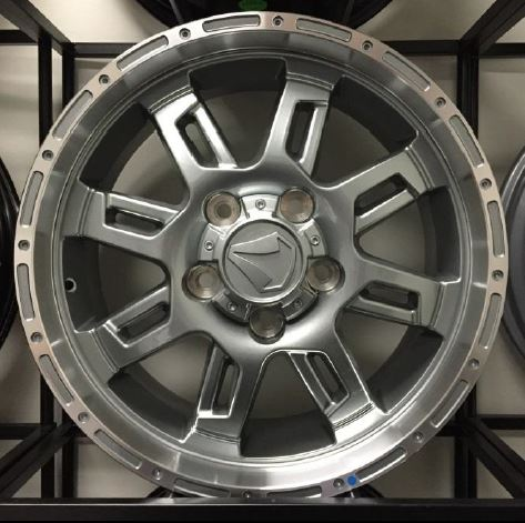"Aluminum 20"" x 9 TSS OFF-ROAD Wheel"