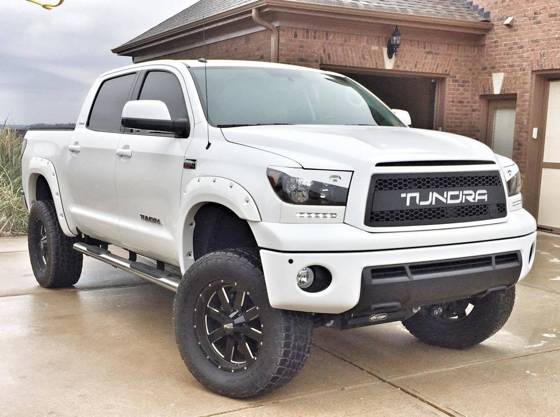 DB Customz Tundra Grille Insert; With Color-Matched Lettering; 2010 - 2013; FREE SHIPPING!