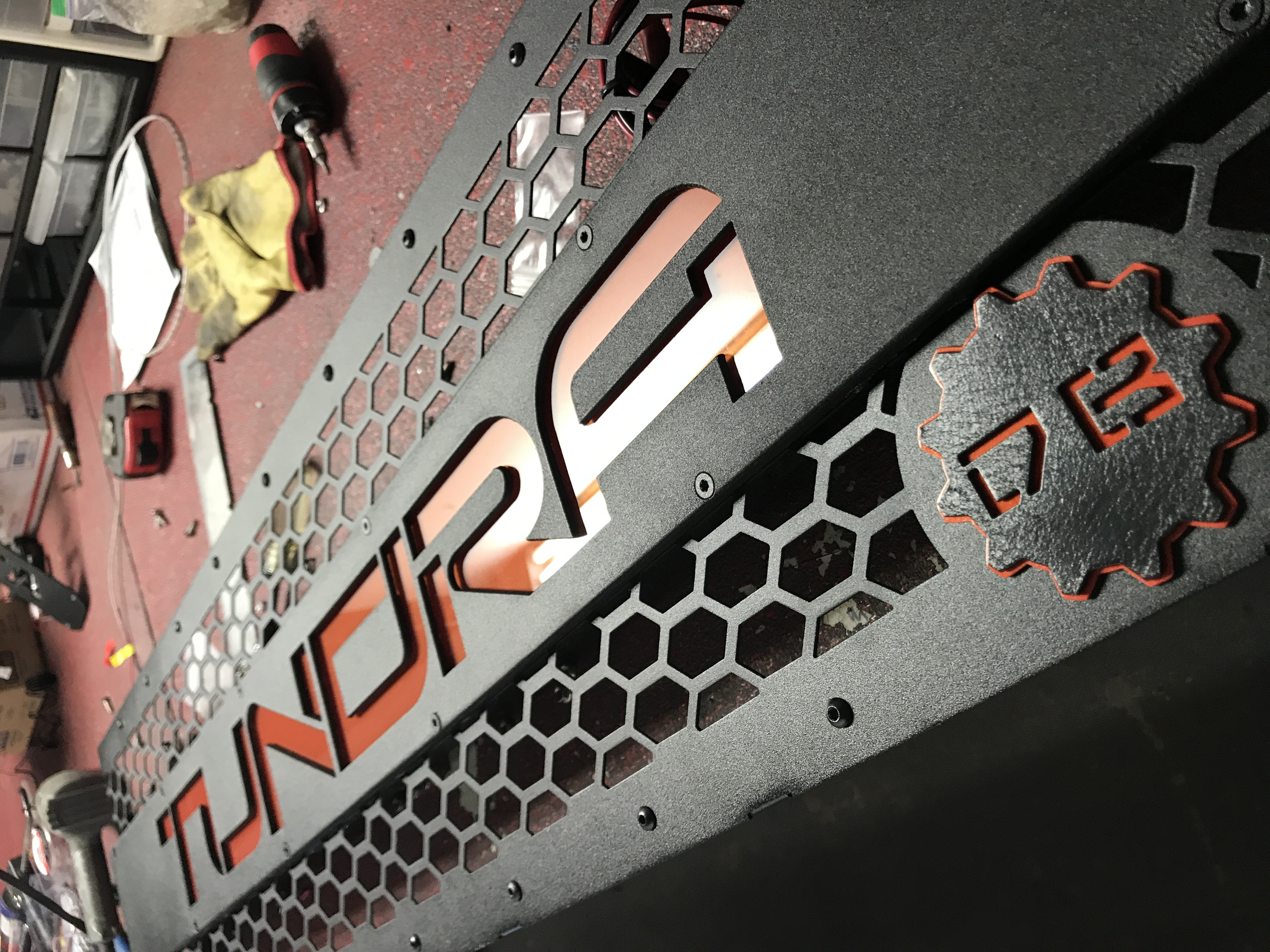 DB Customz 2014-2019 Tundra Grille Insert with Backlit Lettering (FREE SHIPPING)