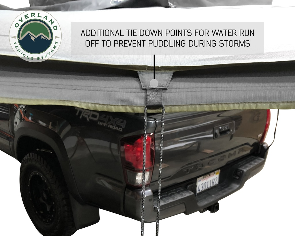 Overland Vehicle Systems Awning 270 Degree Awning and Wall 1, 2, & 3, W/Mounting Brackets Driverside Nomadic
