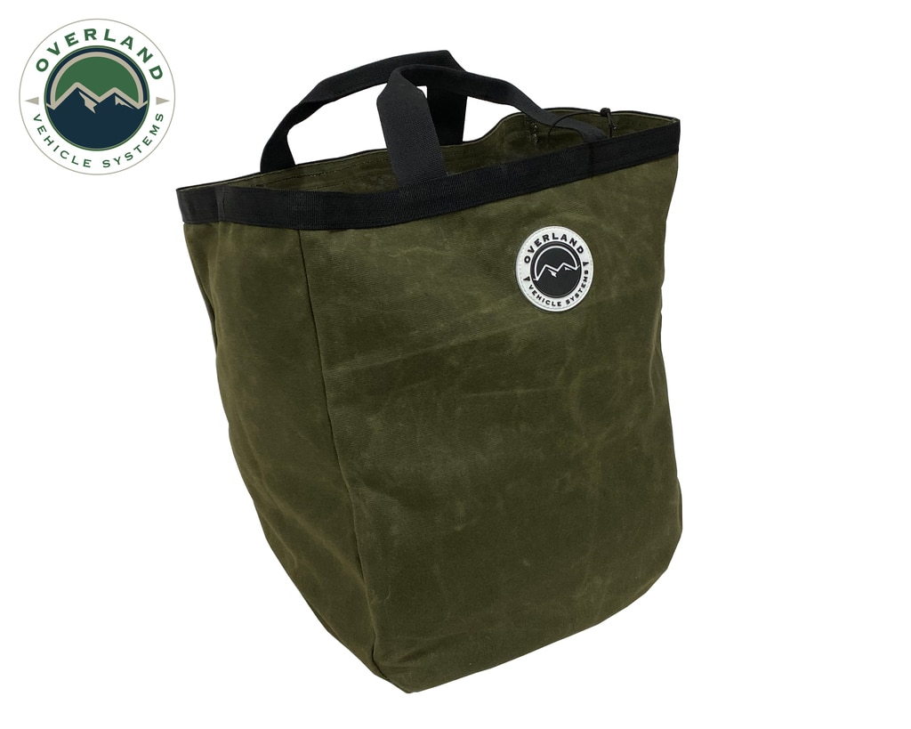 Overland Vehicle Systems Cavas Tote Bag 16 Lb Waxed Canvas