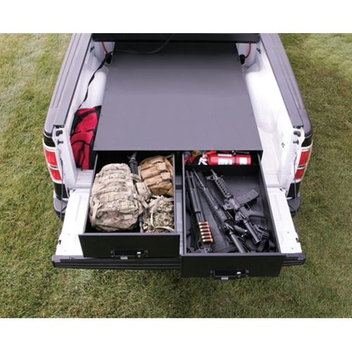 "Tuffy 62""L x 10""H - Heavy Duty Truck Bed Security Drawers"