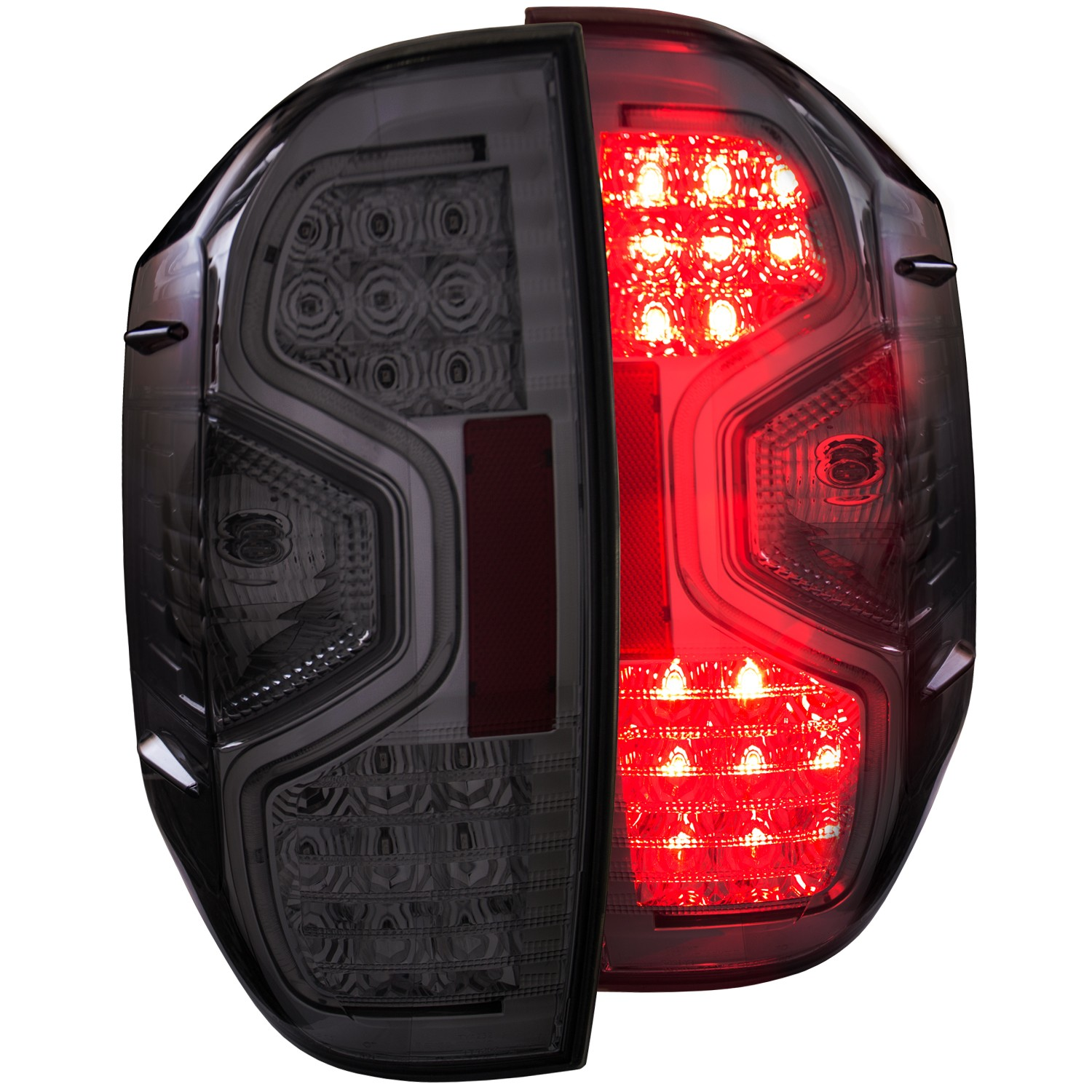 Anzo LED Smoke Tail Lights - 14+