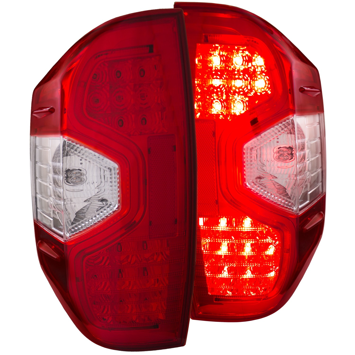 Anzo LED Red/Clear Tail Lights