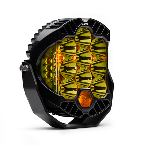 LED Light Pods High Speed Spot Pattern Amber LP9 Series Baja Designs
