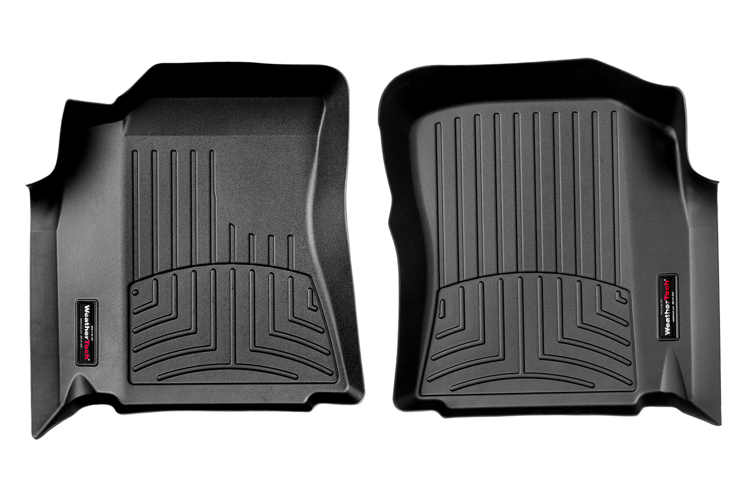 Toyota Tundra Access Cab Front FloorLiner Black