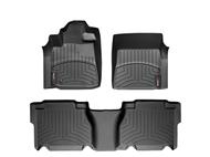 Floorliner Weathertech Front/Rear Tundra DoubleCab