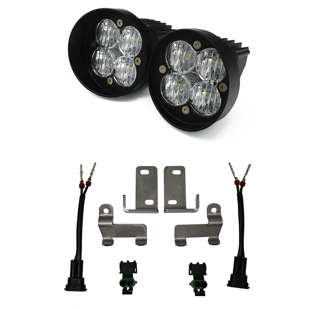 Toyota LED Light Kit Clear Lens Tacoma/Tundra/4Runner Squadron Sport WC Baja Designs