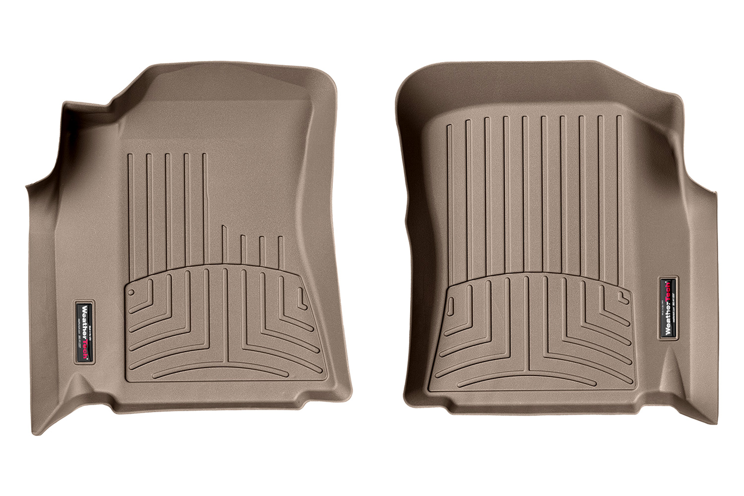 Toyota Tundra Access Cab Front FloorLiner Tan
