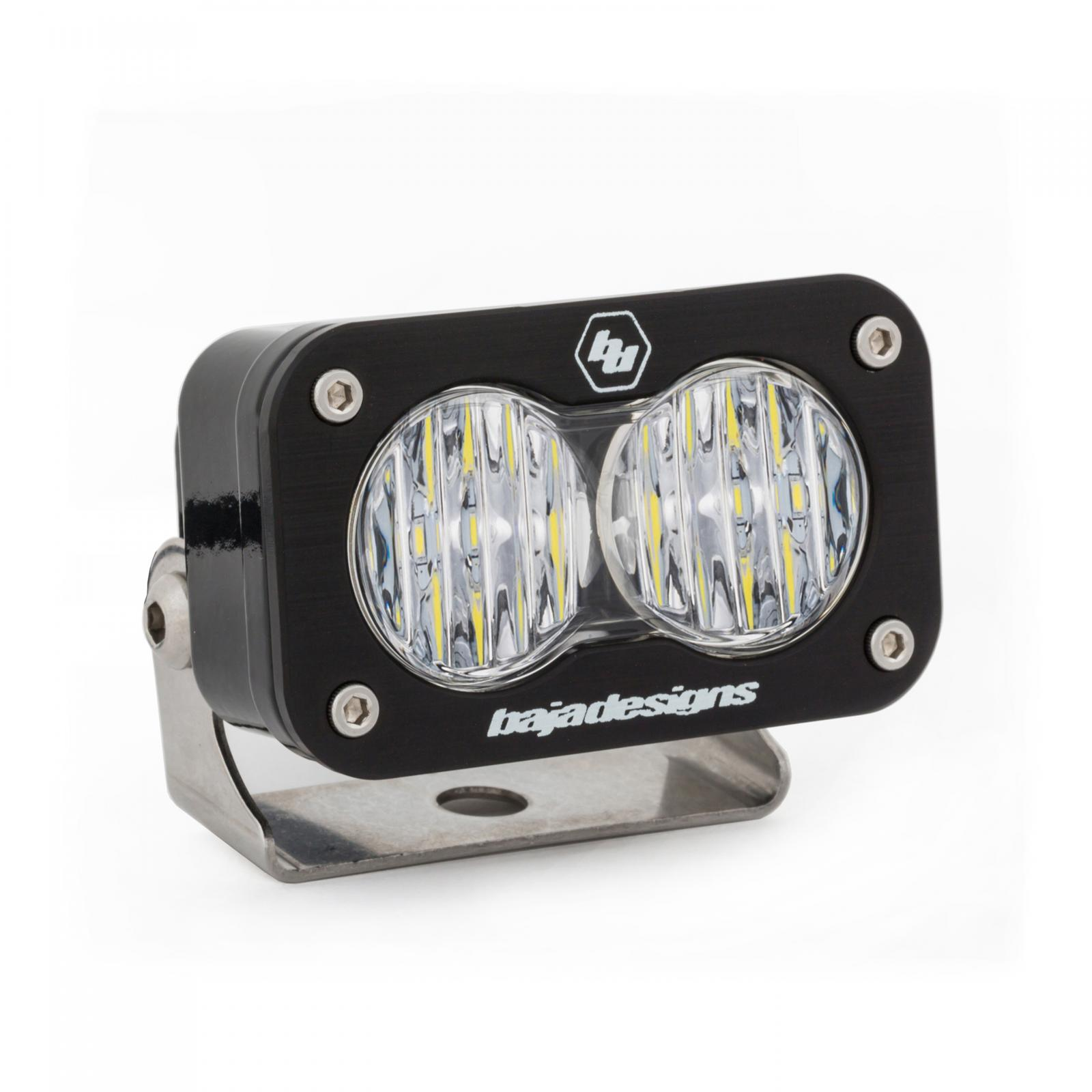 LED Work Light Clear Lens Wide Driving Pattern S2 Pro Baja Designs