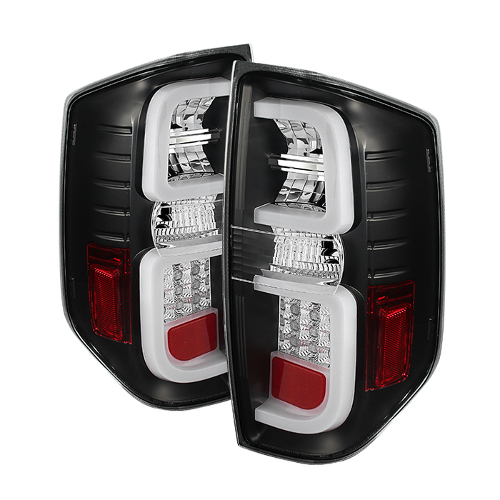 Spyder LED Black Tail Lights