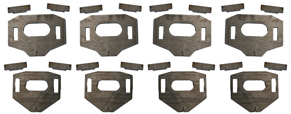 Total Chaos Weld-On Lower Control Arm Cam Tab Gussets 2007-2018 Tundra