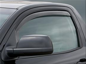 Toyota Tundra Double Cab Front Side Window Deflectors Light Smoke