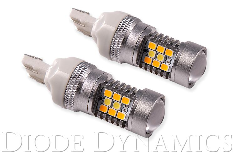 Diode Dynamics 7443-HP24 Switchback Turn Signal LEDs for 2018-2020 Toyota Tundra (w/ LED Headlights) (pair)