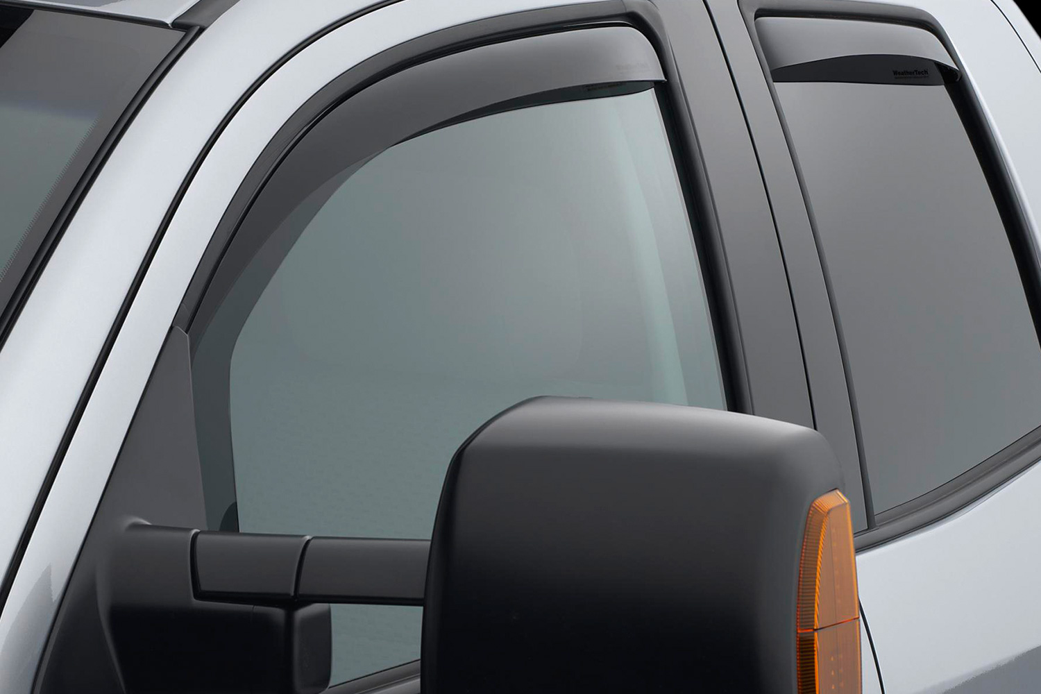 Toyota Tundra Does not fit regular cab Front Side Window Deflectors Dark Smoke