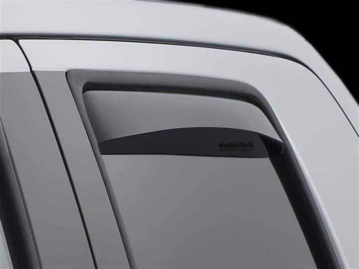 Toyota Tundra Fits Double Cab only Rear Side Window Deflectors Dark Smoke
