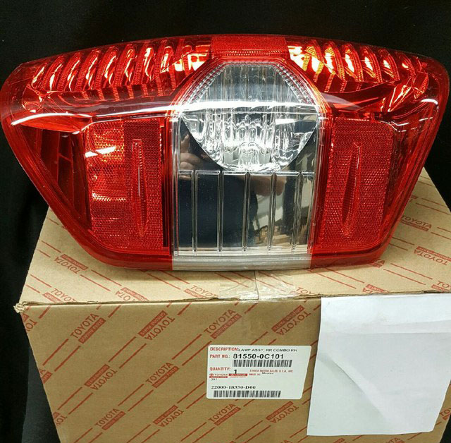 Right Rear Tail Light Assembly; Tundra 2014-2019