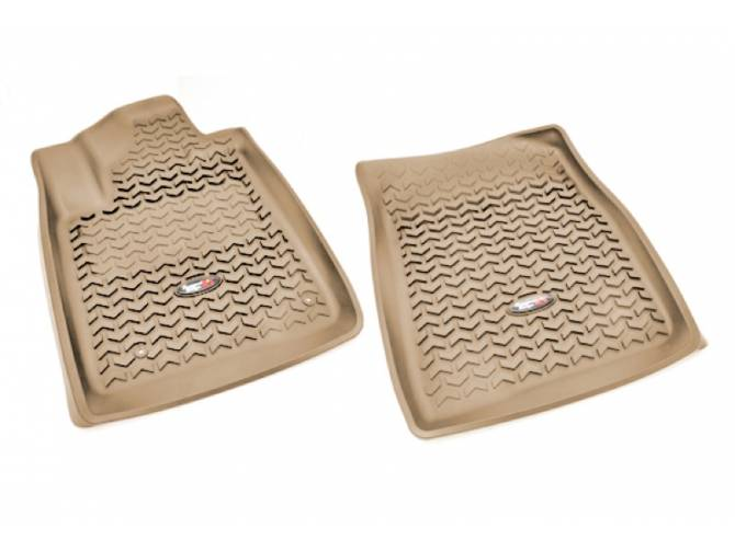 Rugged Ridge 08-11 Rear Floor Liner Kit - Tan
