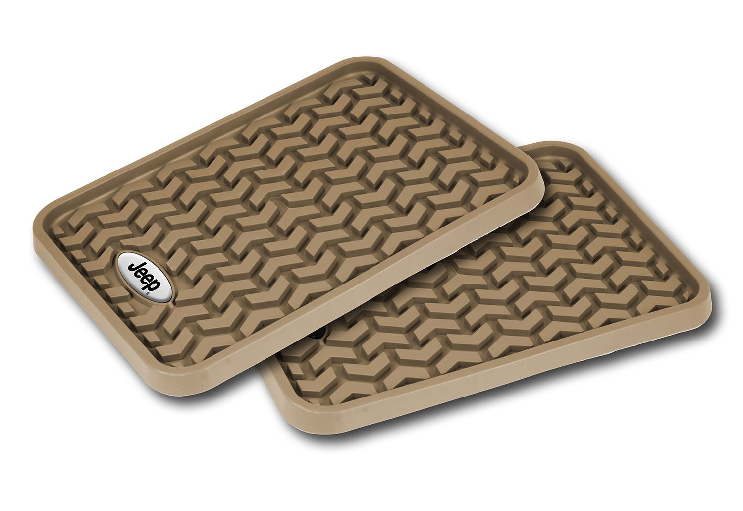 Rugged Ridge All Terrain Universal Rear Floor Liner - Tan