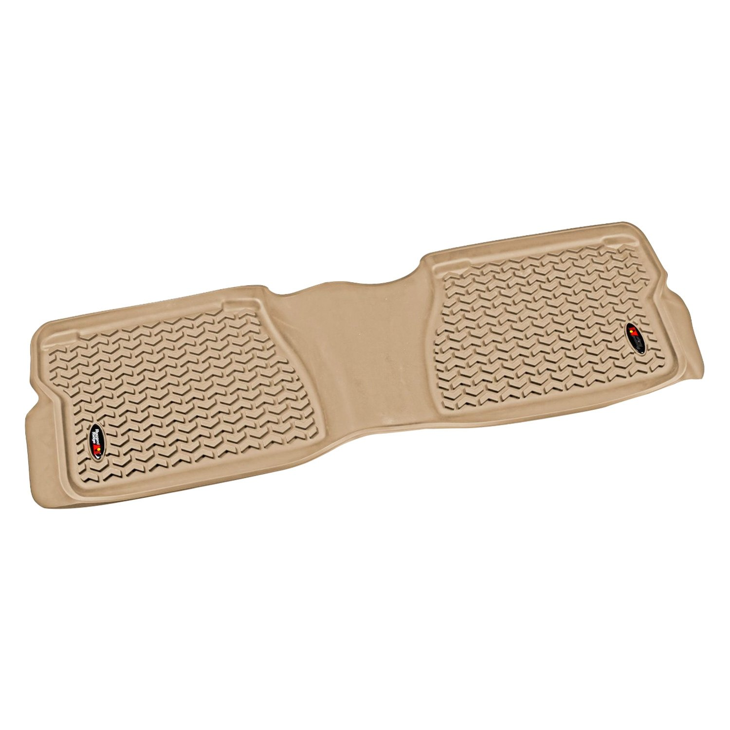 Rugged Ridge 12-18 Rear Floor Liner Kit - Tan