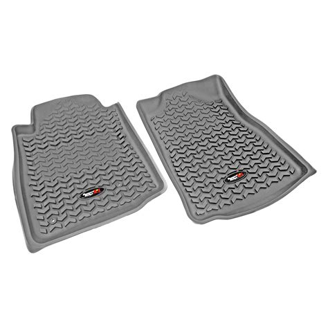 Rugged Ridge 08-11 Rear Floor Liner Kit - Gray