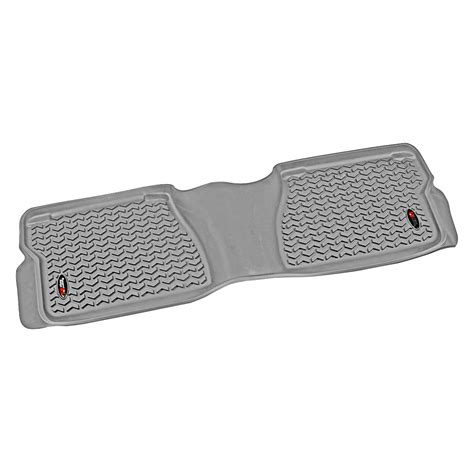 Rugged Ridge 12-18 Rear Floor Liner Kit - Gray
