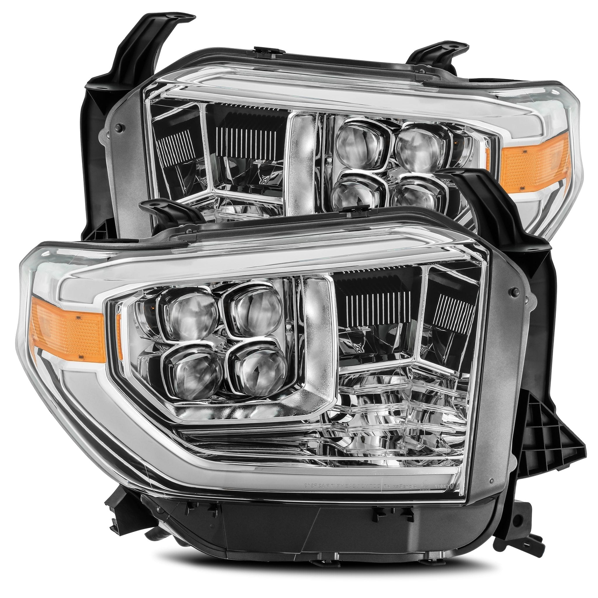 AlphaRex 14-20 Toyota Tundra NOVA-Series LED Projector Headlights Chrome - Ships Free