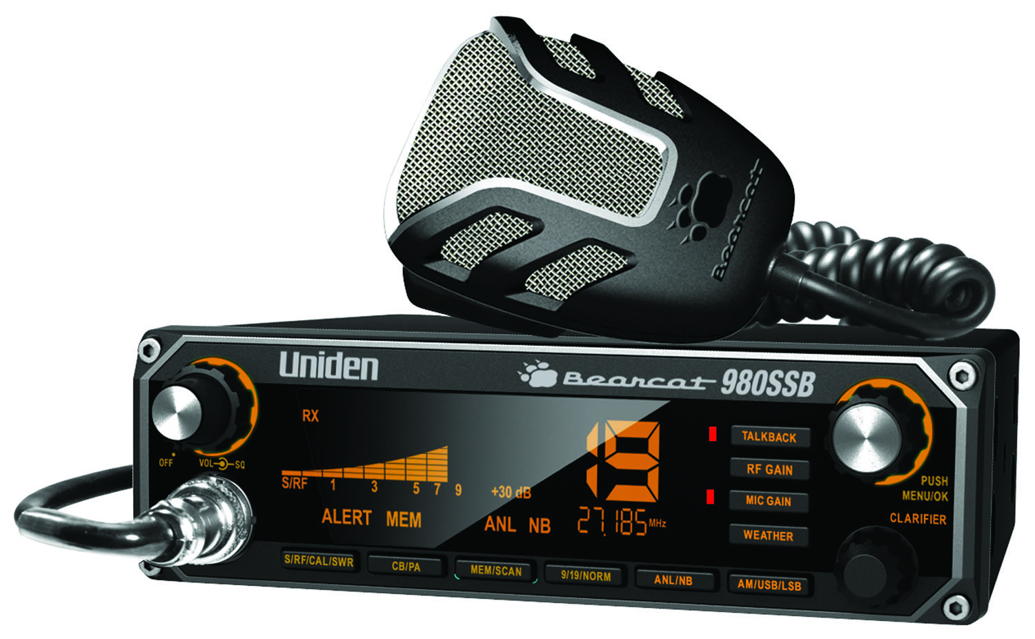Uniden Bearcat 980 CB Radio with Upper and Lower Side Band