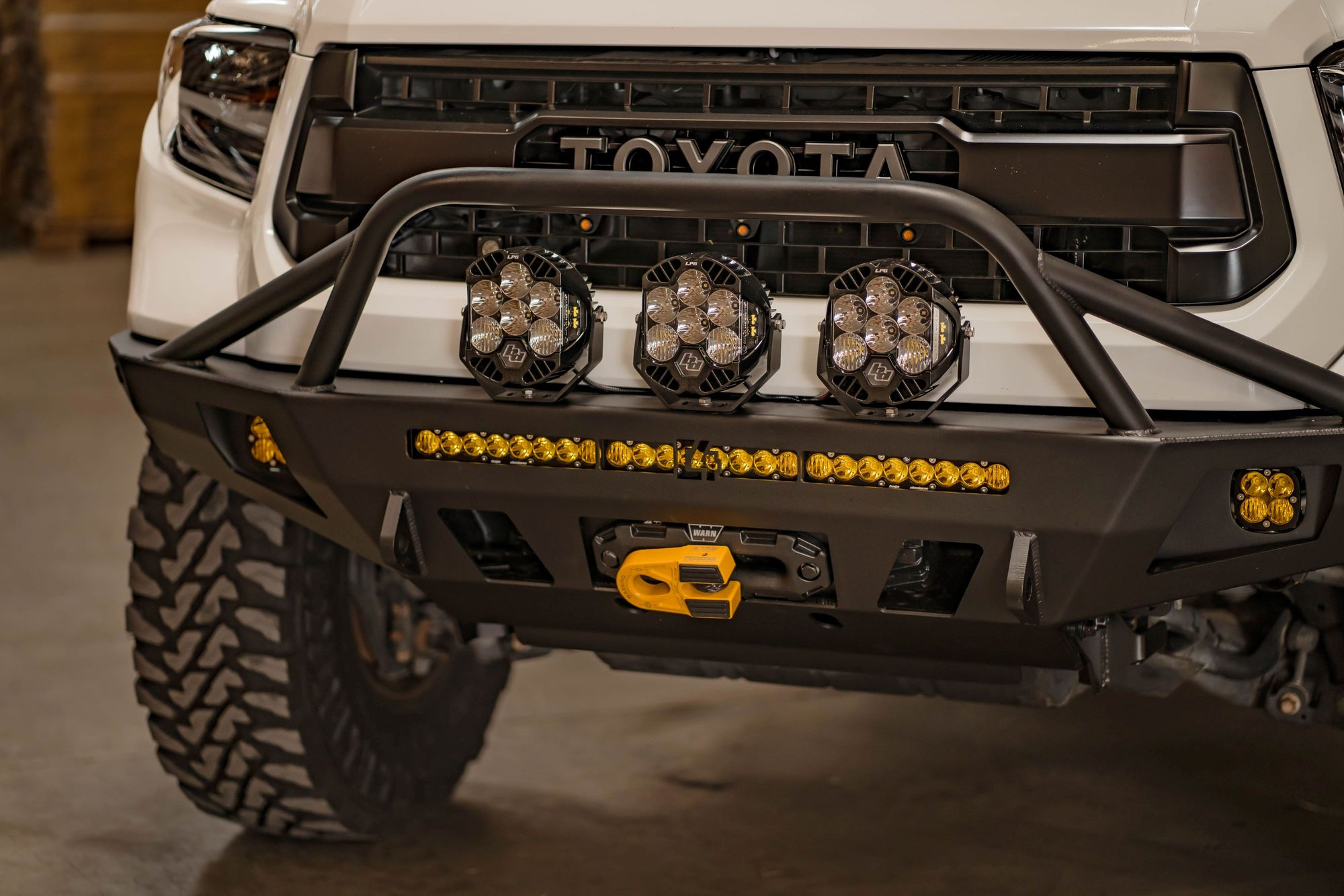 C4 Fab Tundra Overland Series Front Bumper 2014+
