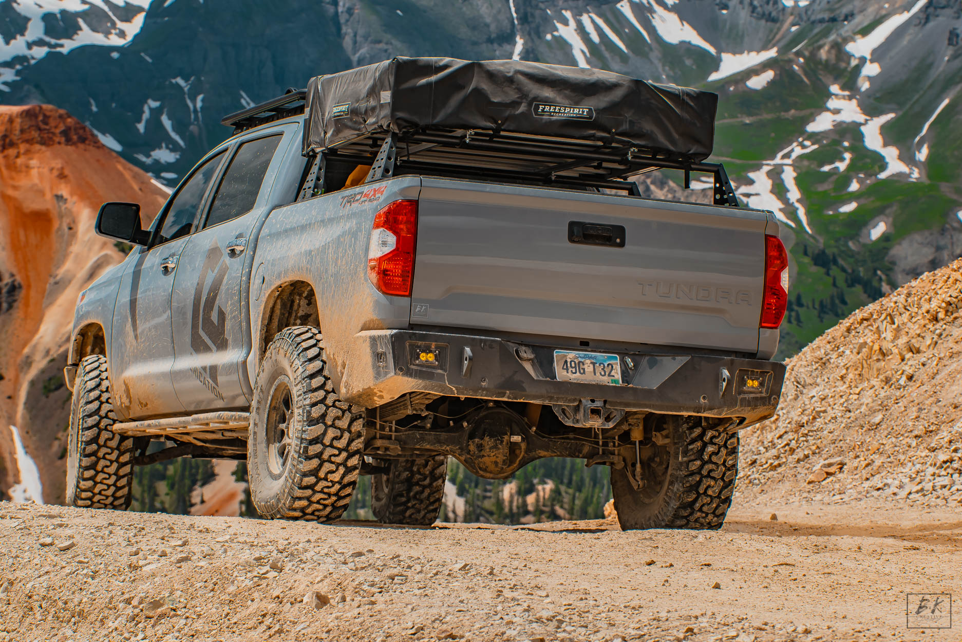 C4 Fab Tundra Overland Series Rear Bumper 2014 C4 Tundra Overland Rear 2014 1 283 00 Pure Tundra Parts And Accessories For Your Toyota Tundra
