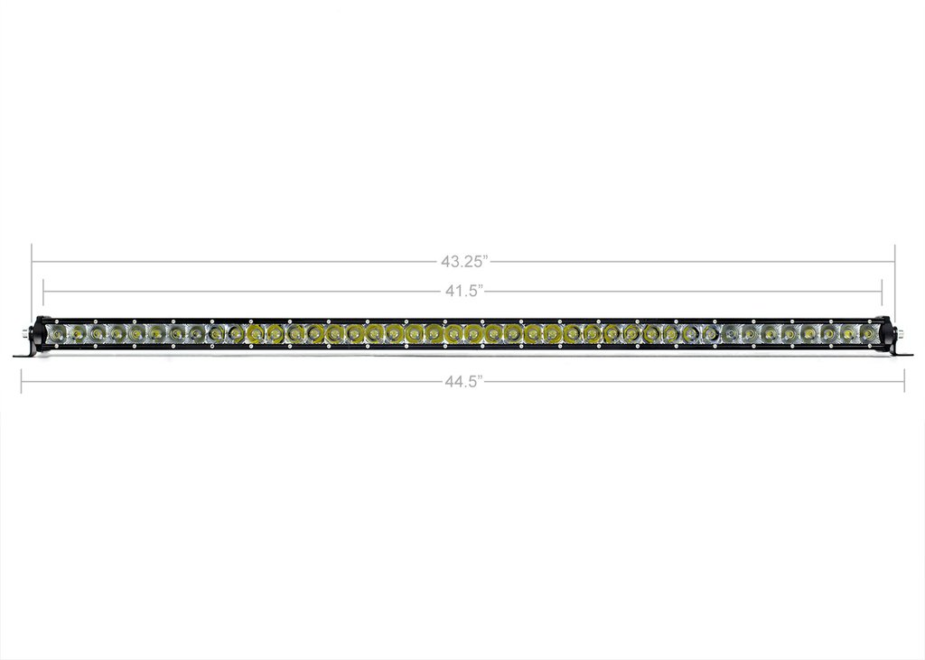 Cali Raised 42 In. Slim Single Row LED Bar