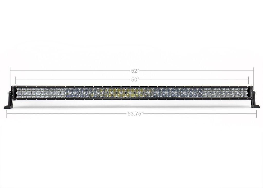 Cali Raised 52 In. Curved 5D Optic OSRAM LED Bar