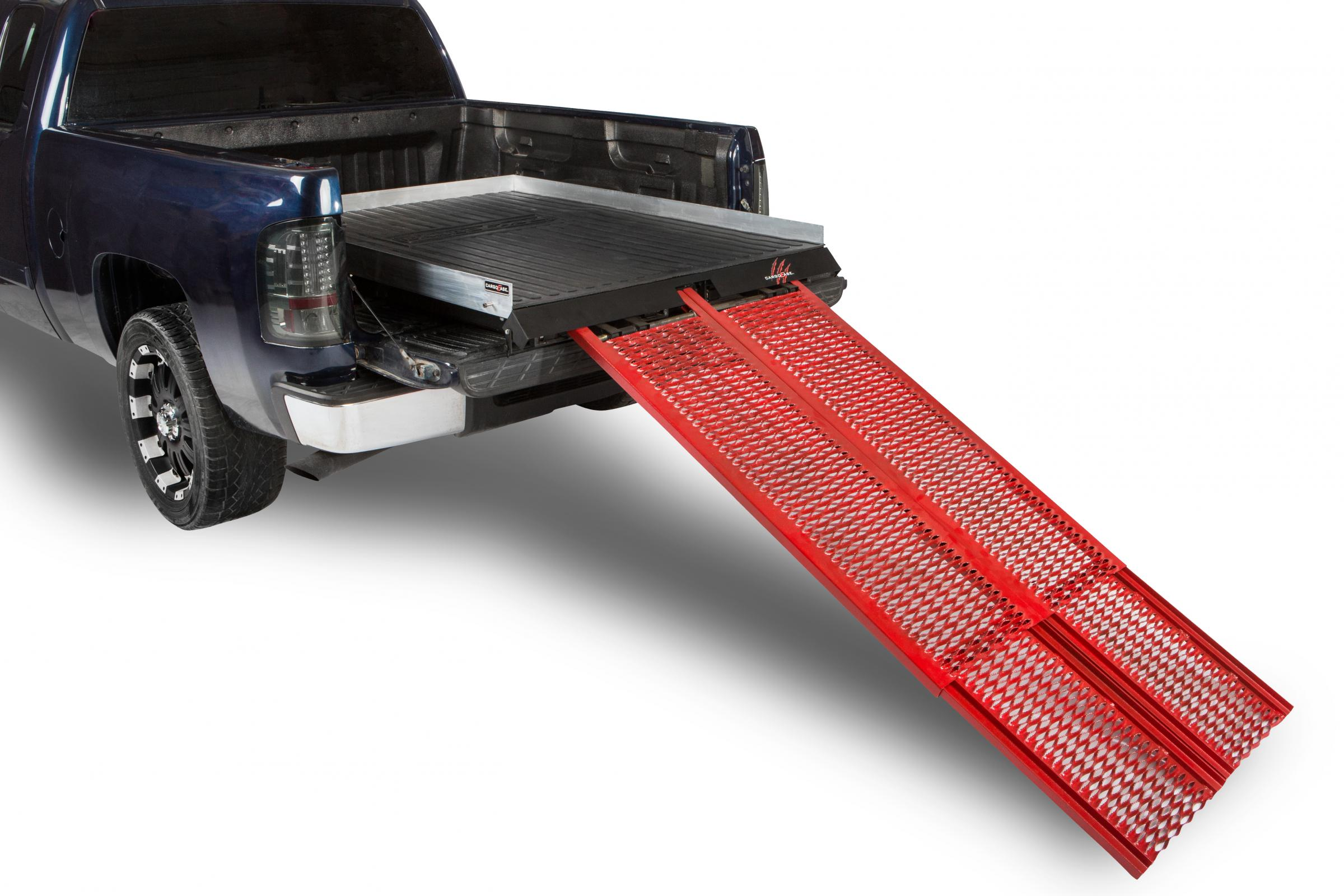 Cargo Ease Cargo Ramp Series Bed Slide 1800 Lb Capacity 07-Pres Toyota Tundra Crew Max Short Bed