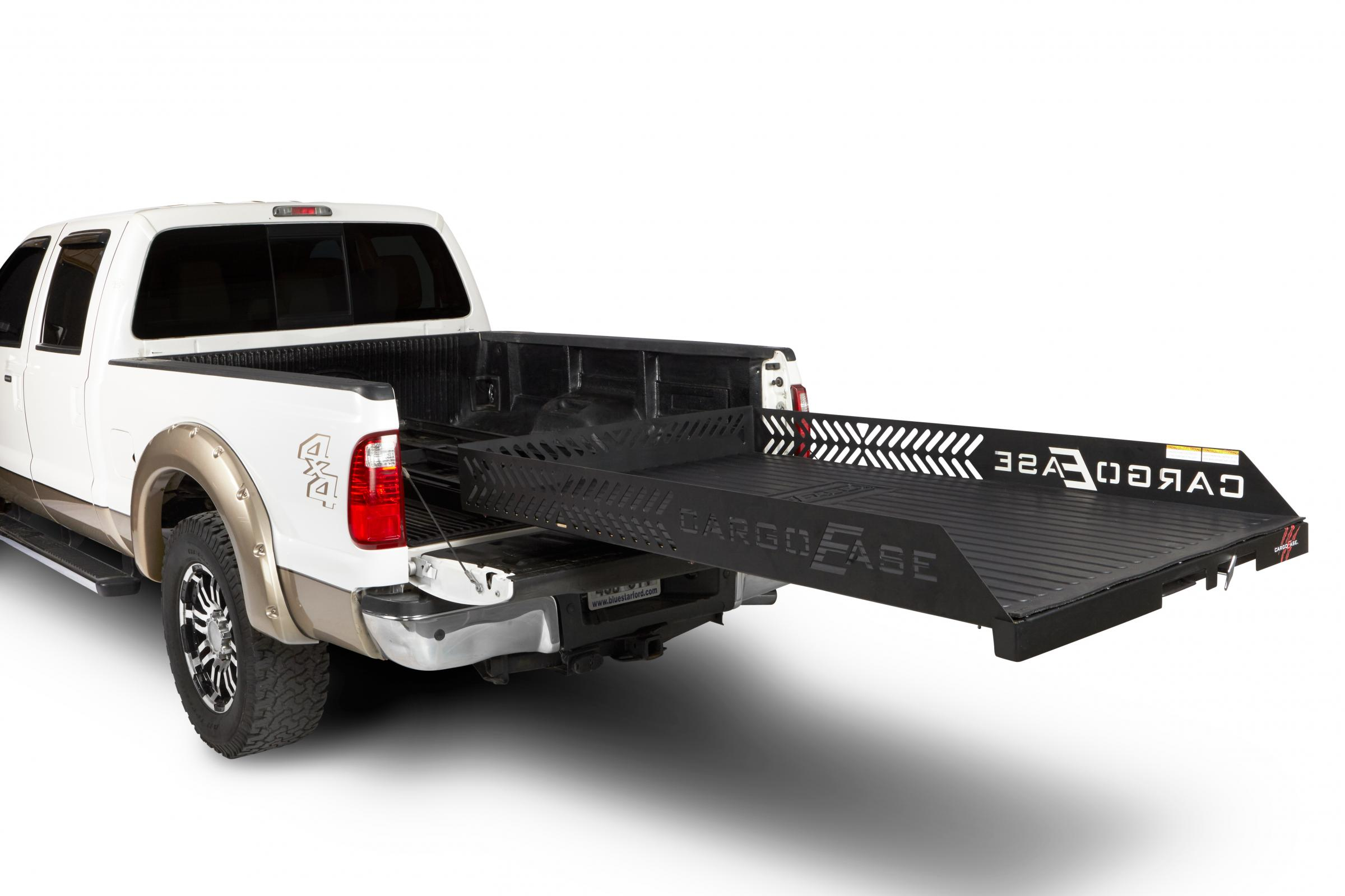 Cargo Ease Full Extension Series Cargo Slide 2000 Lb Capacity 07-Pres Toyota Tundra Crew Max Short Bed