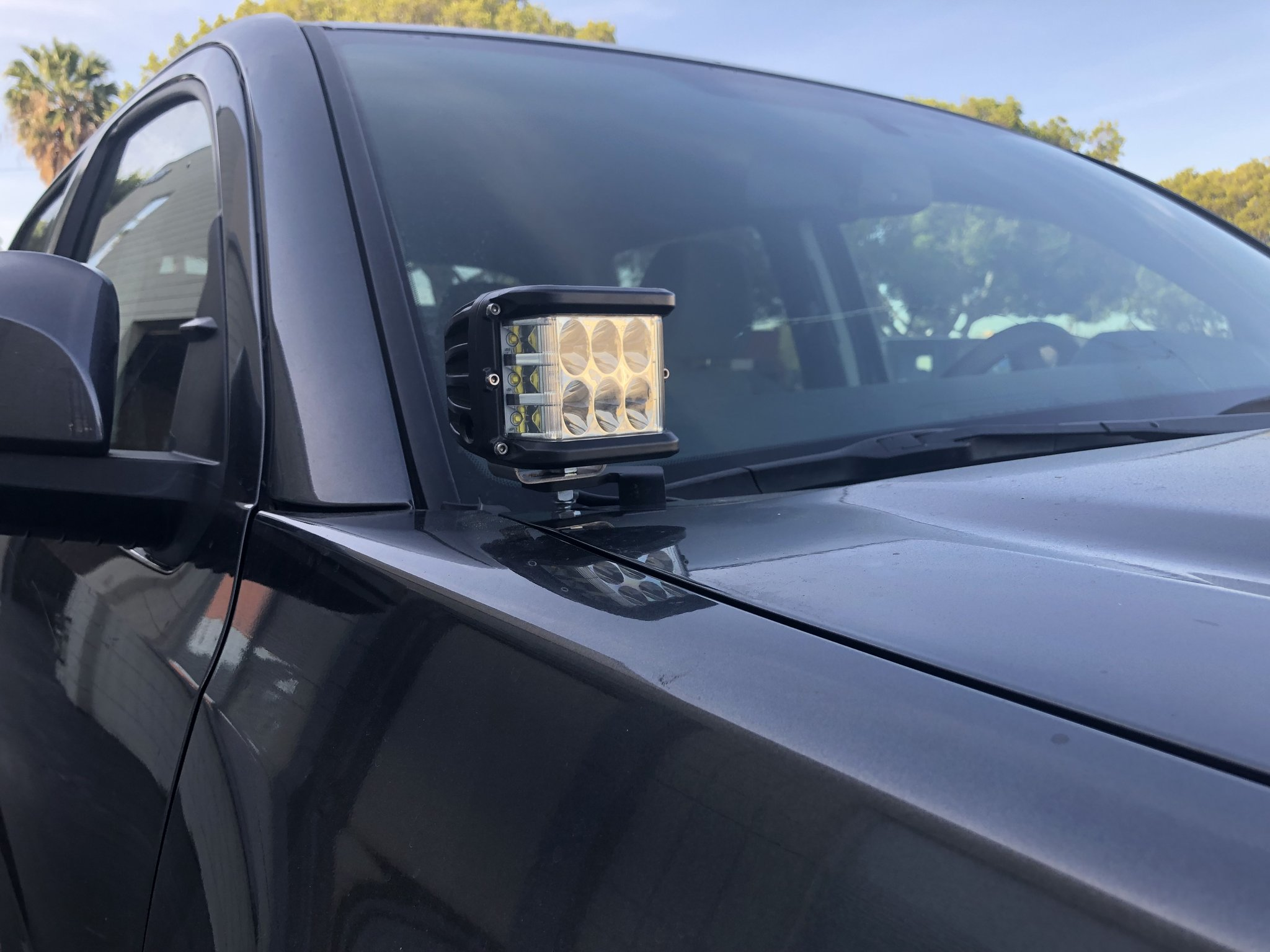Cali Raised Toyota Tundra Low Profile Ditch Light Combo 2014+