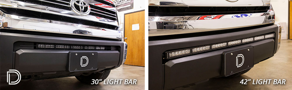 2014+ Toyota Tundra Stealth LED Light Bar Bracket Kit - 42""