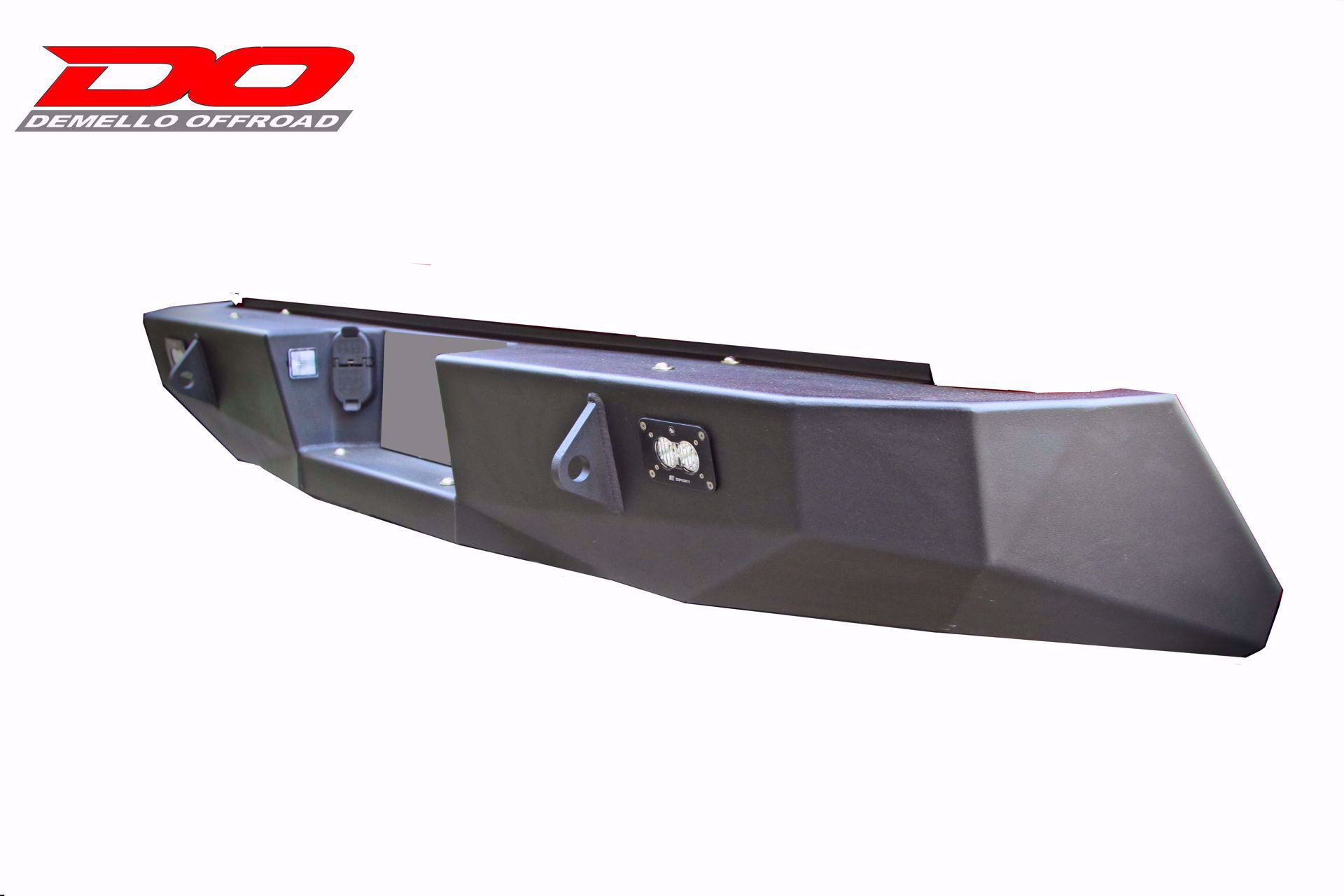 Demello Off-Road Rear Bumper; 2014-2019 Tundra