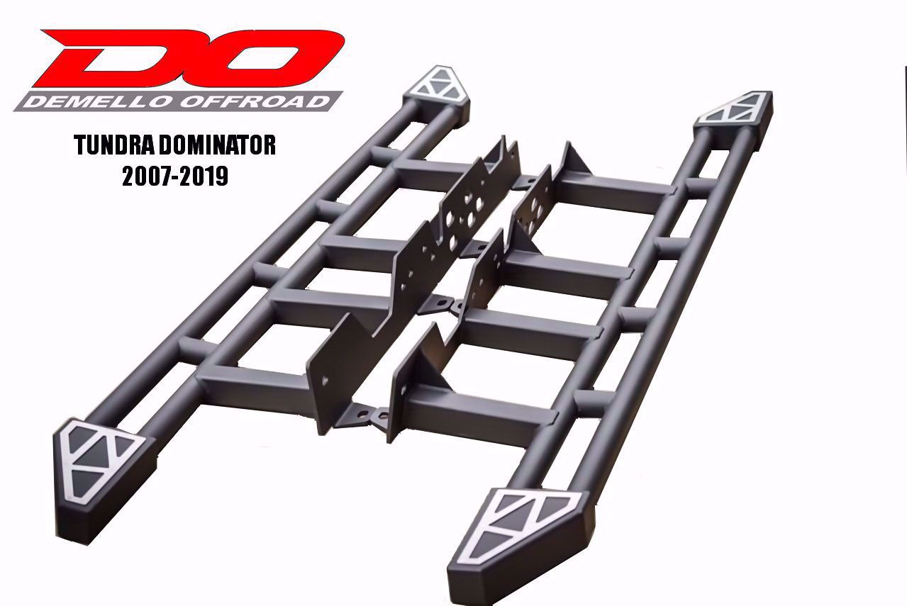 Demello Tundra Dominator Rock Sliders / Steps