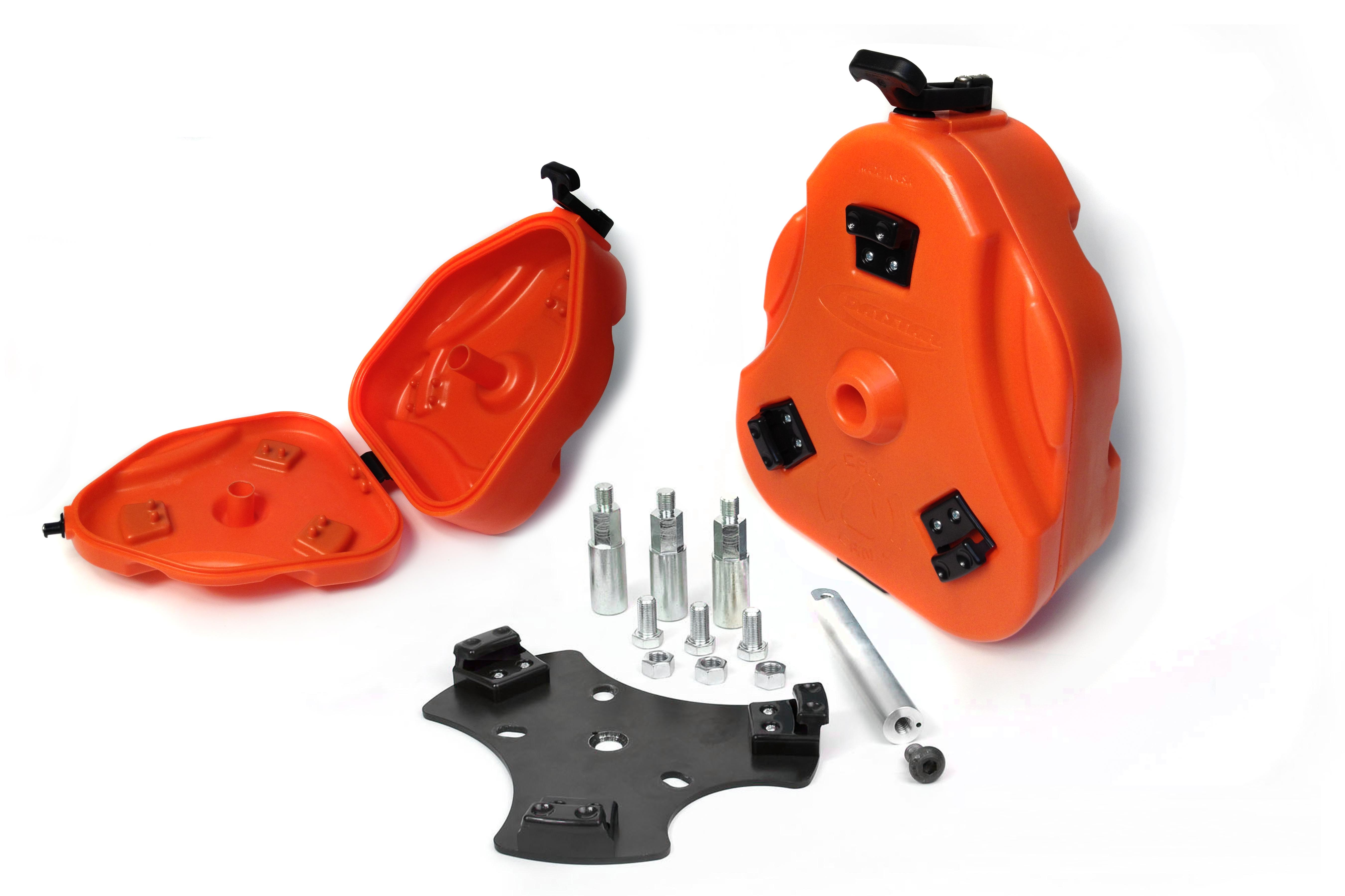 Daystar 2.5 gallon Trail Box - Storage - Orange