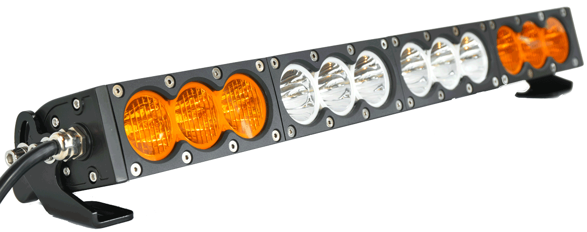 X6 10w series 2d amber white 32 single row led light bar 17100 x6 10w series 2d amber white 32 single row led light bar 17100 lumens mozeypictures Choice Image