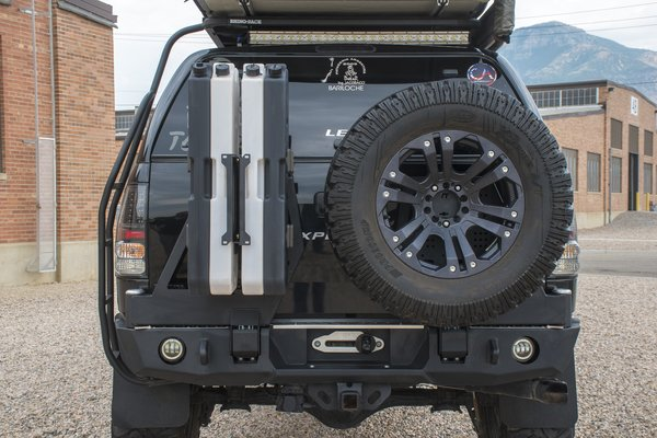Expedition One Dual Swing-Out Rear Bumper 2007+