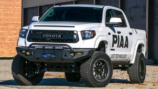 Expedition One Toyota Tundra 14+ Storm Trooper Front Bumper