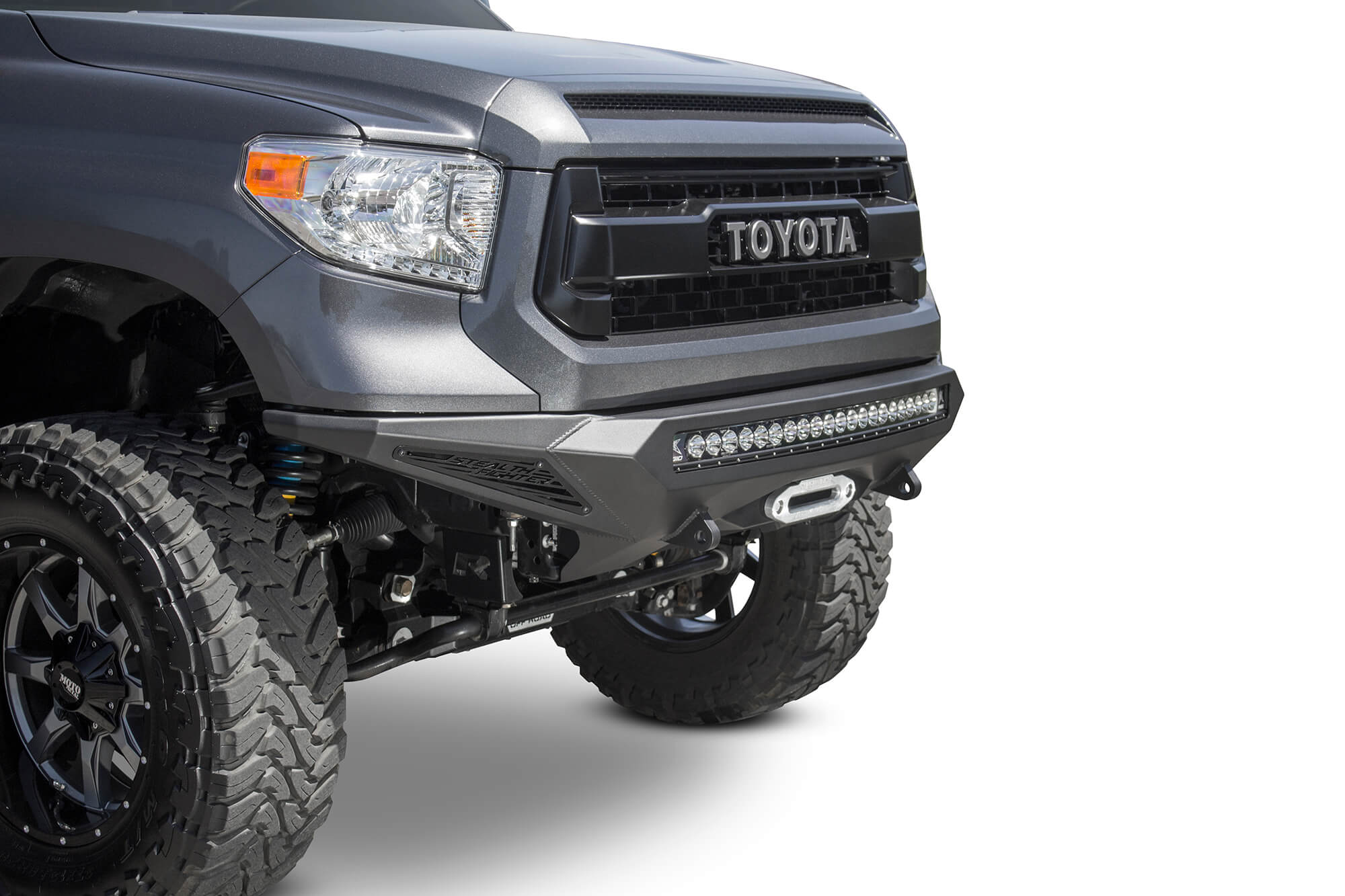 ADD 2014-2020 Toyota Tundra Stealth Fighter Winch Front Bumper