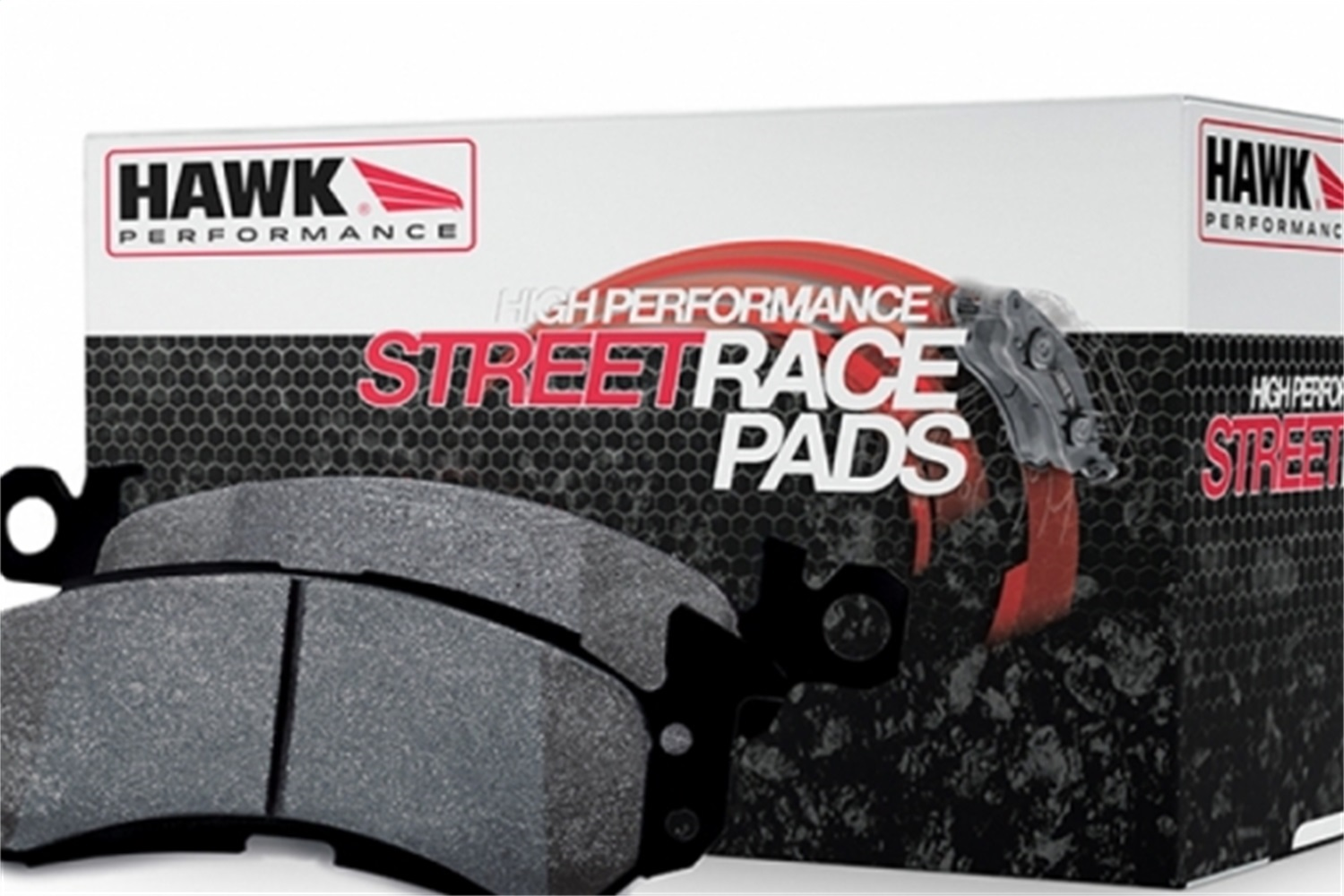 Hawk Street Race Ferro Carbon Brake Pads (Set of 4) -
