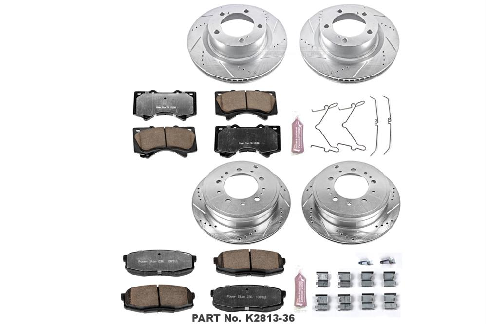 Power Stop Z36 Truck and Tow Performance Brake Kits 2007-2013