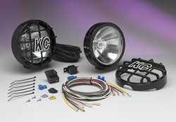 KC HiLiTES SlimLite 100w Black Driving Lights