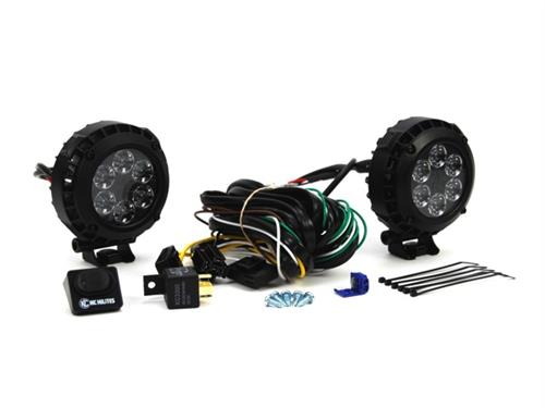 KC HiLiTES LZR LED 4 Inch Driving Light Kit