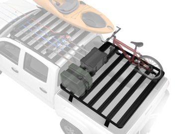 Front RUnner Outfitters Slimline II Double Cab 4-Dr Cargo Bed Rack Kit - 1999-2006