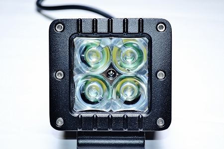 "Lifetime LED Lights 3"" Square 16W"